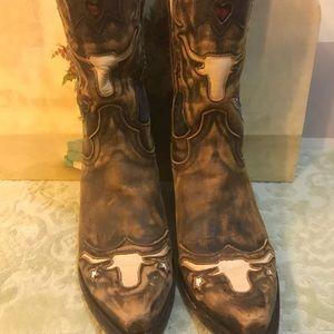 f7db0555635 Dan Post Cowboy Dreams Longhorn Boots